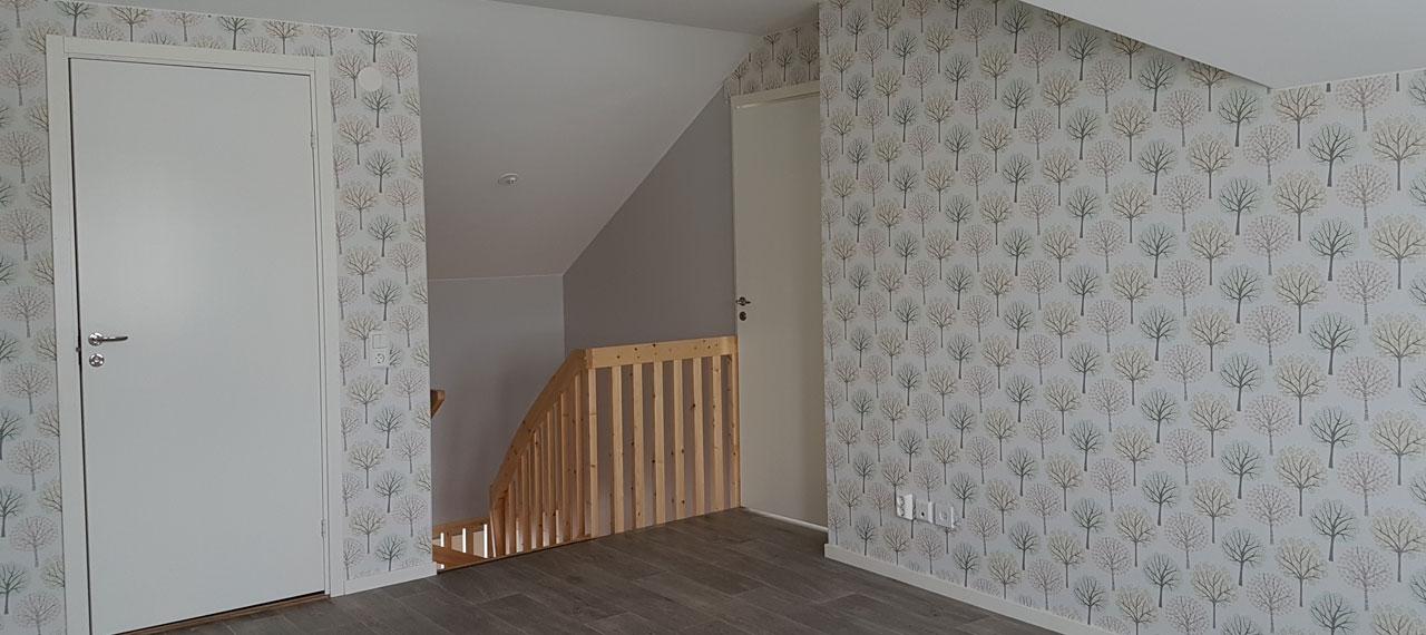 Ny villa på Solvägen i Kramfors